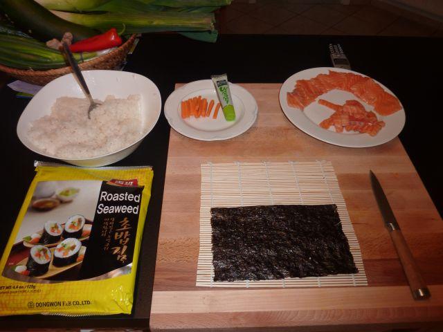 sushi viele bilder grillforum und bbq. Black Bedroom Furniture Sets. Home Design Ideas