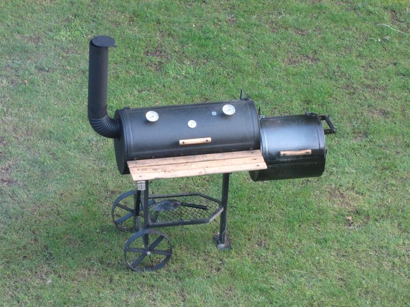 pimp my low budget smoker grillforum und bbq. Black Bedroom Furniture Sets. Home Design Ideas