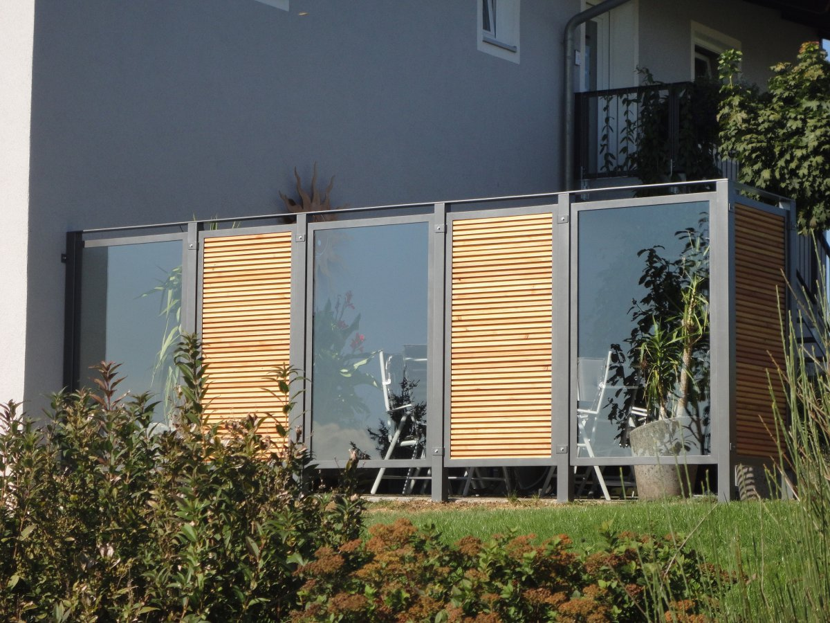 Fabulous 17514620170226_Sichtschutz Terasse Glas – Filout.com IW15