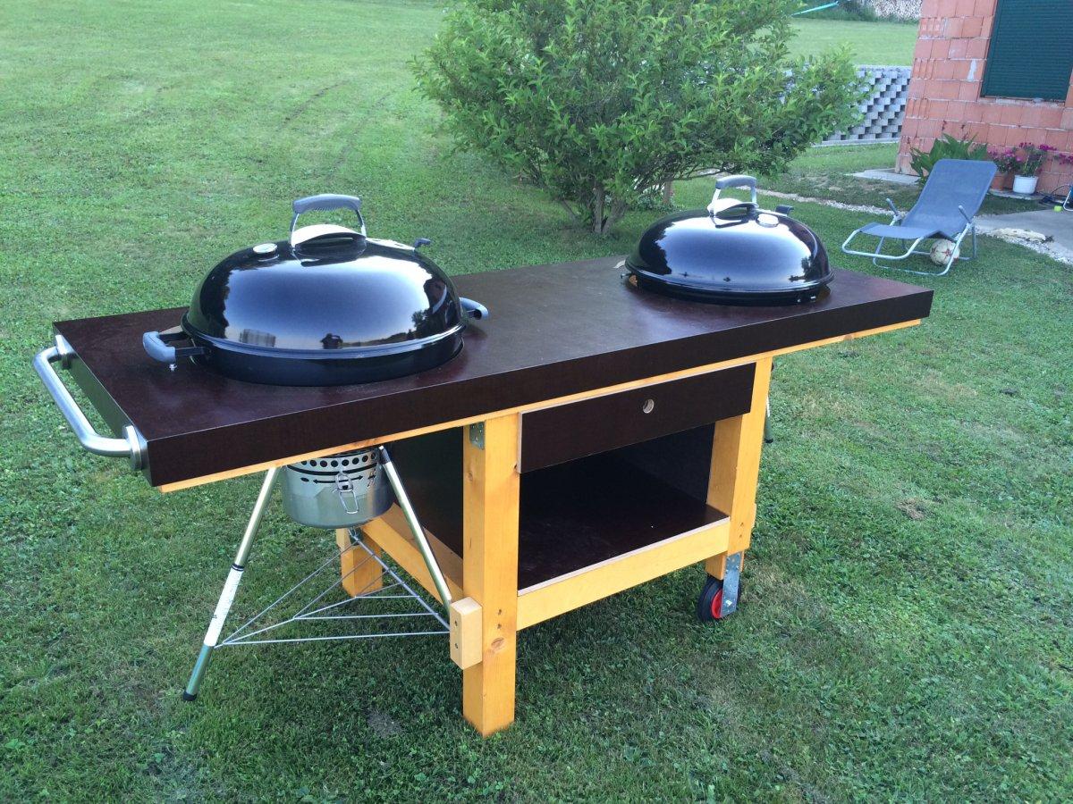 eigenbau weber grilltisch und gillerweiterung grillforum und bbq. Black Bedroom Furniture Sets. Home Design Ideas