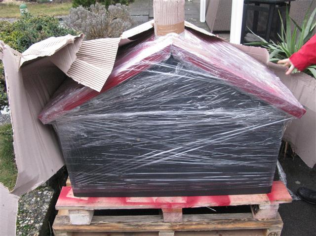 ein neuer holzbackofen von thomas ramster grillforum und bbq. Black Bedroom Furniture Sets. Home Design Ideas