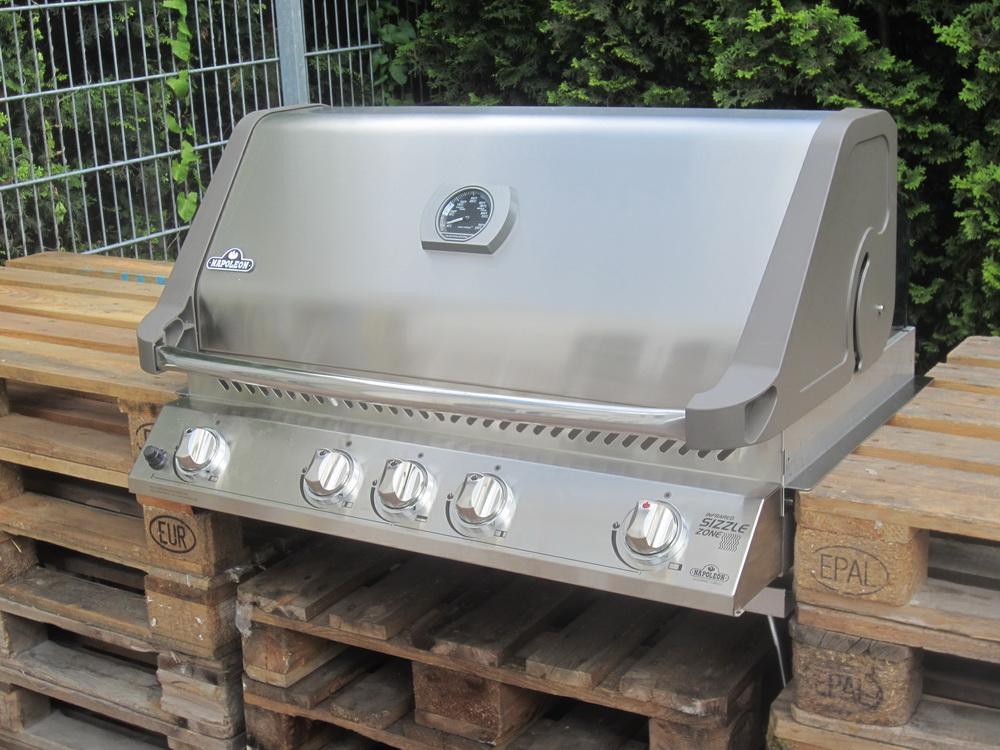 grillplatzbau mit napoleon einbaugrill grillforum und. Black Bedroom Furniture Sets. Home Design Ideas