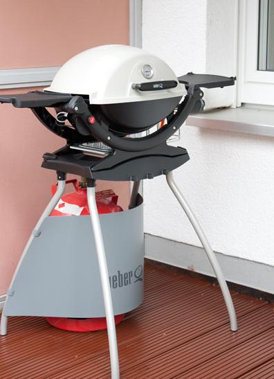 Weber q120 bestellt aufgebaut und eingebrannt for Barbecue weber gaz q120