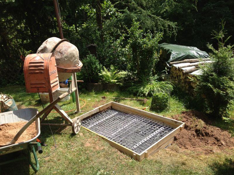 Gemauerter parrilla grill spanferkel grill grillforum for Gemauerter grill