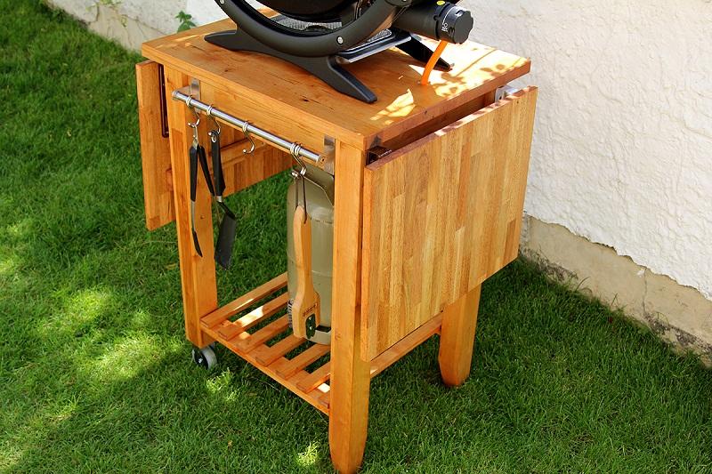 pimp my grill grillwagen f r gasgrill grillforum und. Black Bedroom Furniture Sets. Home Design Ideas