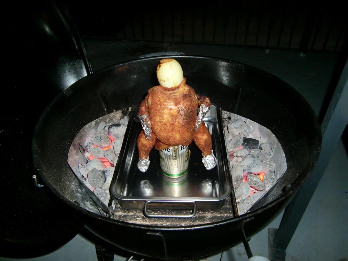 11 Chicken aufm Grill nach 30 Minuten.JPG