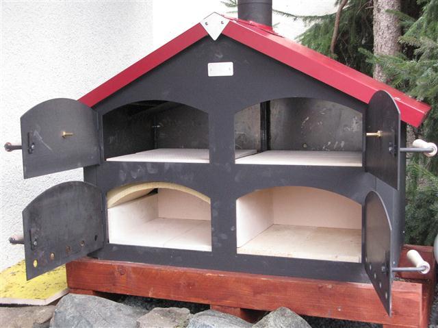 ein neuer holzbackofen von thomas ramster grillforum und. Black Bedroom Furniture Sets. Home Design Ideas