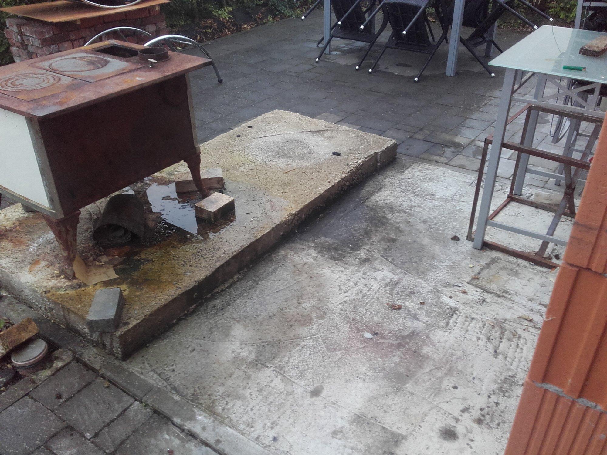 Außenküche Mit Smoker : Holzbackofen aussenküche smoker grill oder die eierlegende