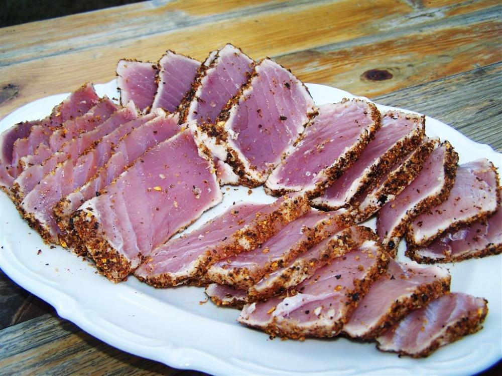 Japanisch gegrillter Thunfisch   Grillforum und BBQ - www ...