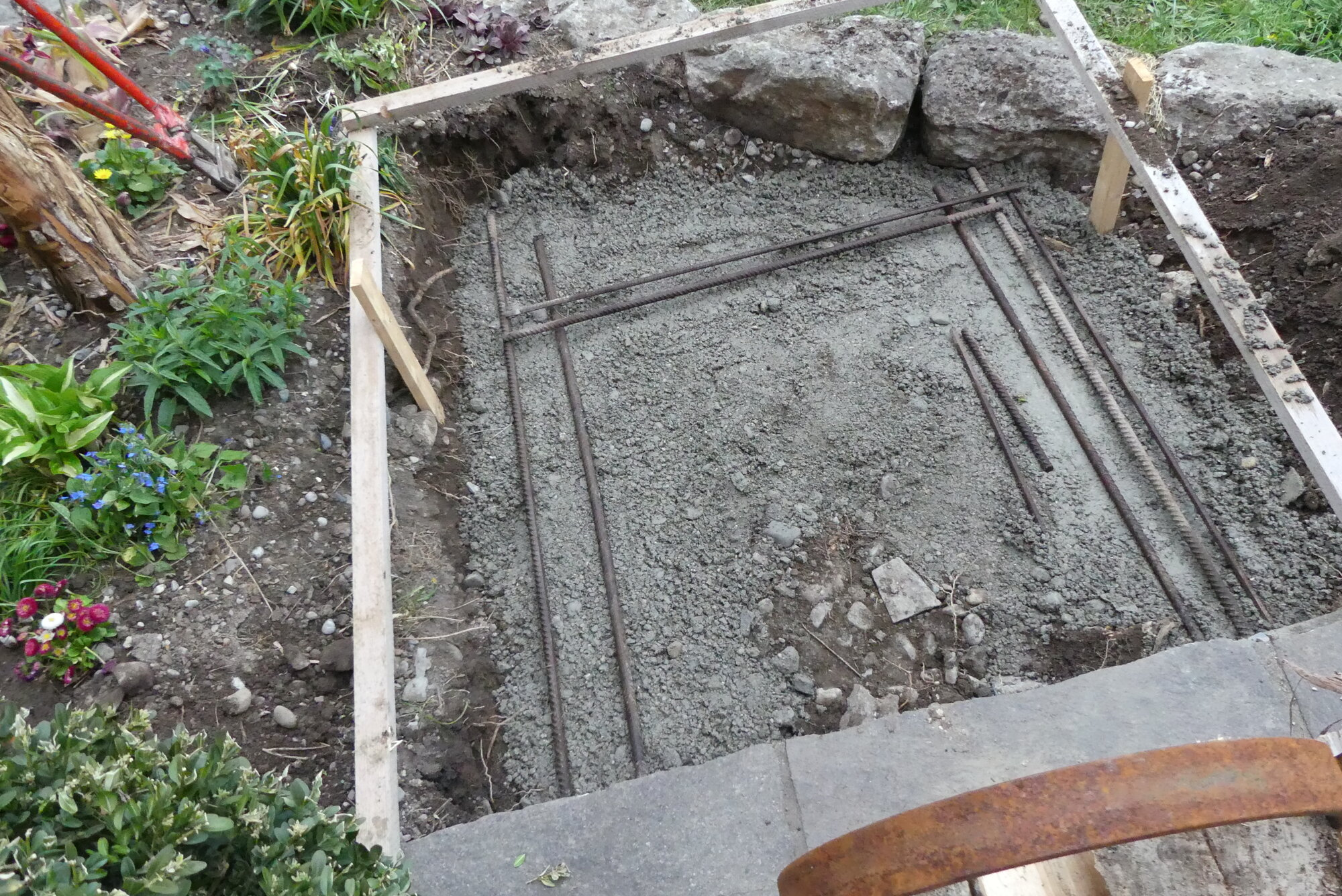 2. Fundament unter Bodenplatte.JPG