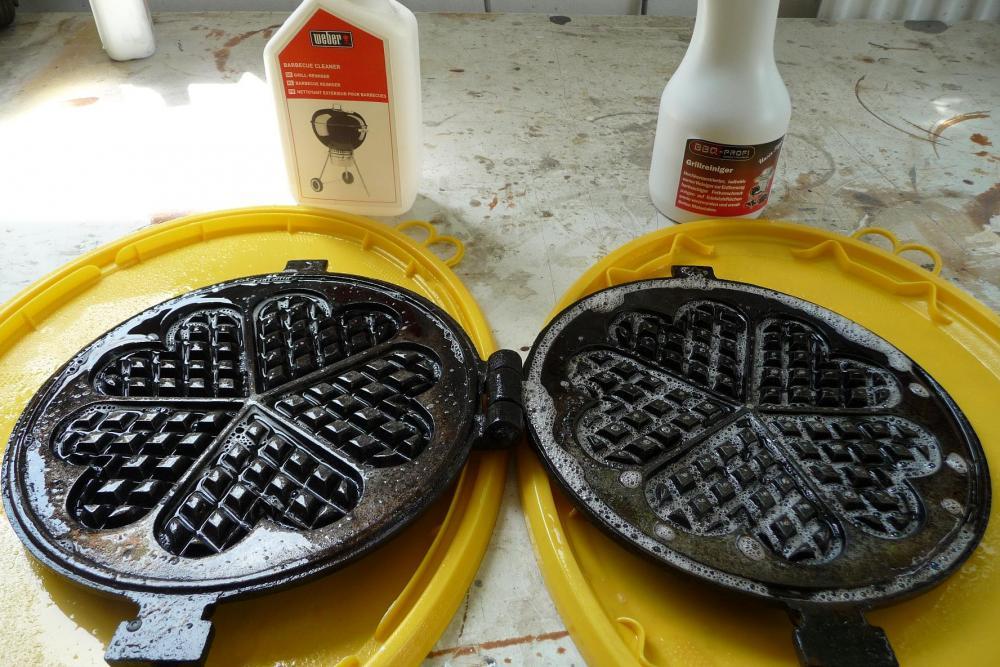 Waffeleisen Für Gasgrill : Waffeleisen mit wokbrenner eingebrannt grillforum und bbq