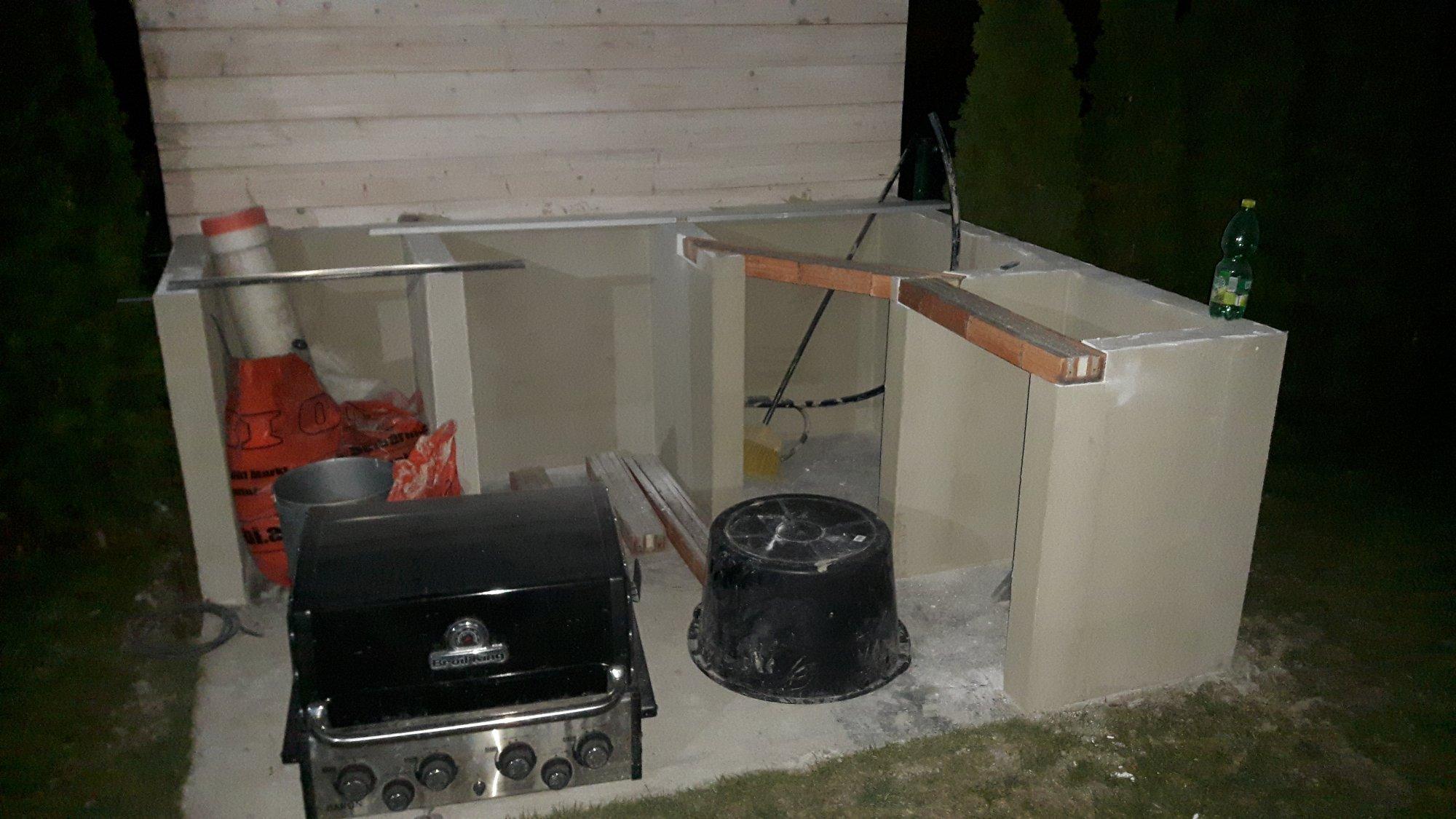 Outdoor Küche Kamado Joe : Outdoor küche eigenbau grillforum und bbq www.grillsportverein.de