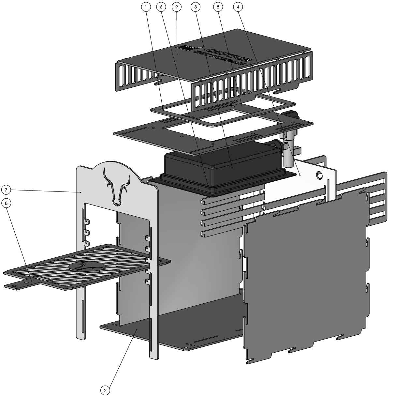 anleitung eigenbau oberhitze grill seite 36 grillforum und bbq. Black Bedroom Furniture Sets. Home Design Ideas