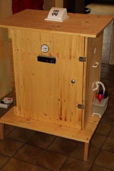 mein reifeschrank ist fertig grillforum und bbq. Black Bedroom Furniture Sets. Home Design Ideas
