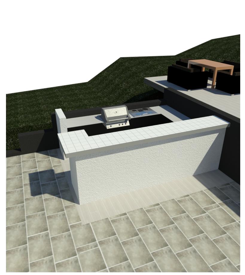 einbau smoker in au enk che grillforum und bbq. Black Bedroom Furniture Sets. Home Design Ideas