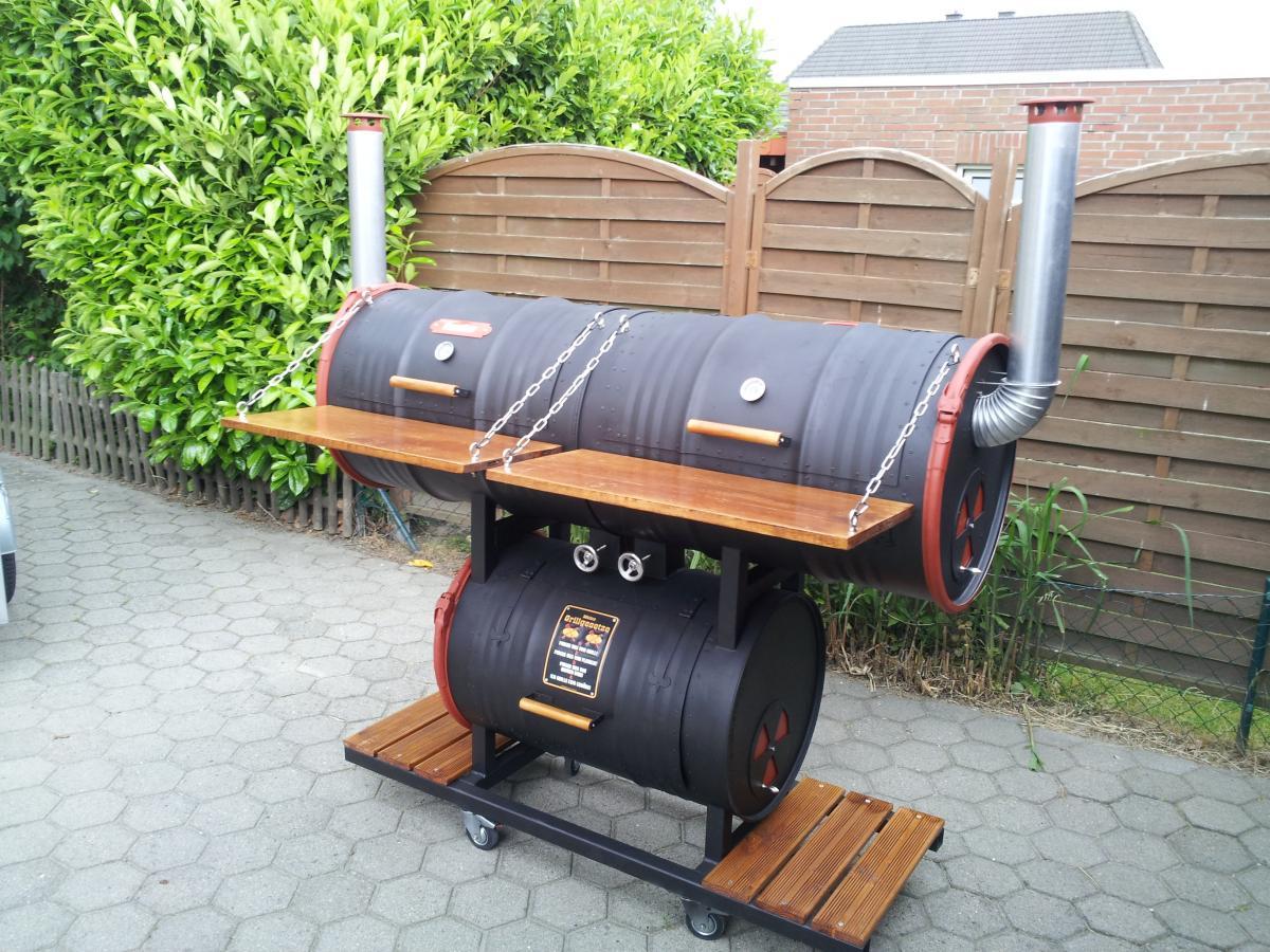 3x triple drum smoker tds bei bremen seite 3. Black Bedroom Furniture Sets. Home Design Ideas