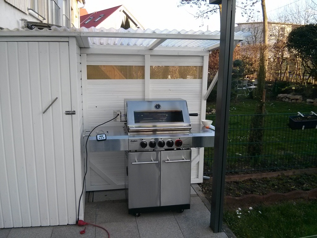 Enders Gasgrill Kansas : Enders stand gasgrill kansas sik turbo mit brennern und