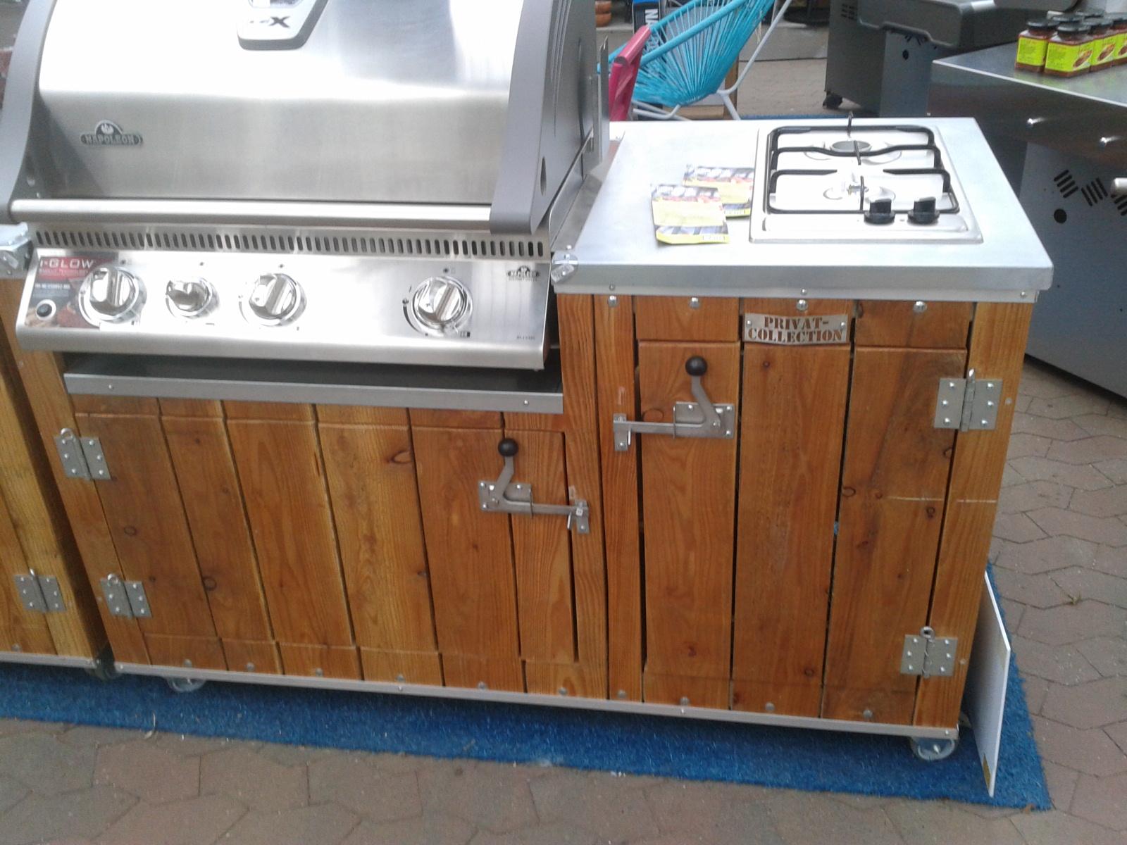 Schrank Für Außenküche : Außenküche sinnvolle utensilien ausstattung grillforum und bbq