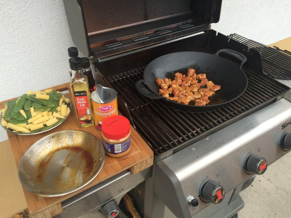 Wok Für Gasgrill : Woki gasgrillset mbar mit rost wok grillplatte deckel