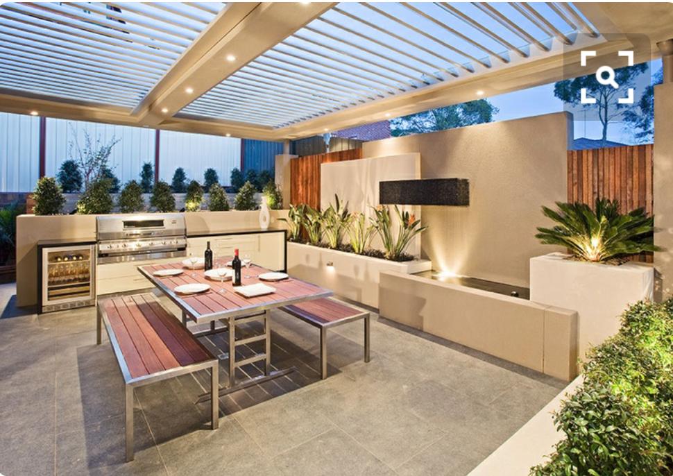 moderne au enk che grillforum und bbq www. Black Bedroom Furniture Sets. Home Design Ideas