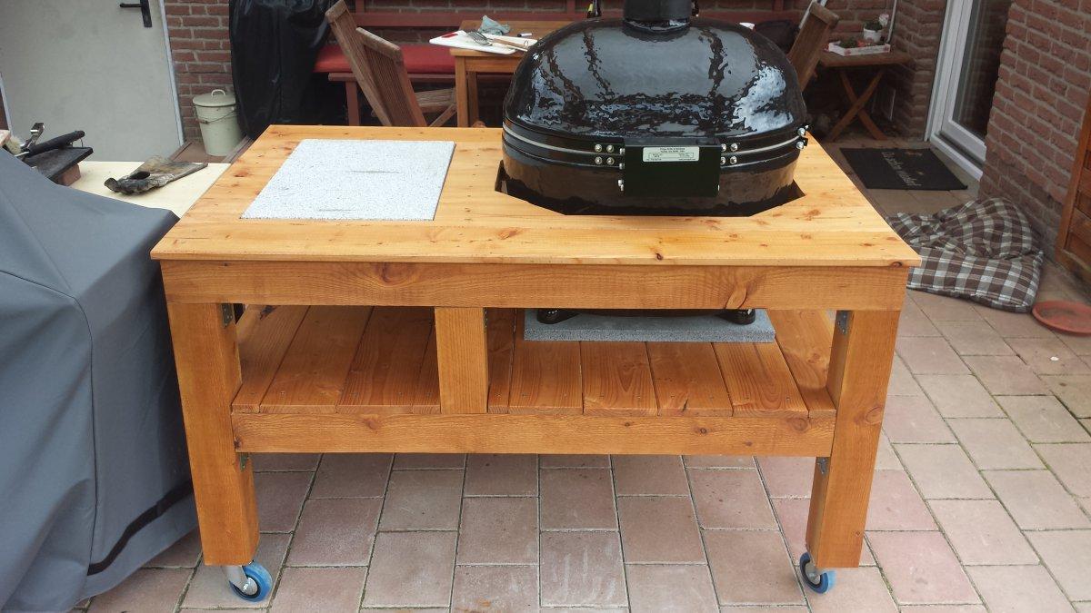 tisch f r primo oval eigenbau seite 2 grillforum und bbq. Black Bedroom Furniture Sets. Home Design Ideas