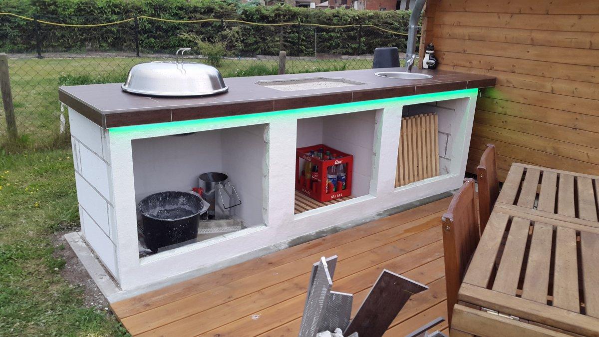 Außenküche Selber Bauen Deutsch : Außenküche selber bauen deutsch: kleine outdoor küche selber bauen