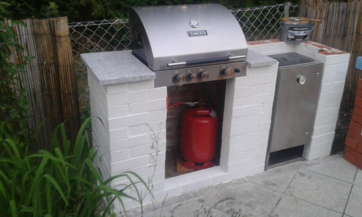 Ausgezeichnet Kleine Außenküche Fotos - Küchenschrank Ideen ...