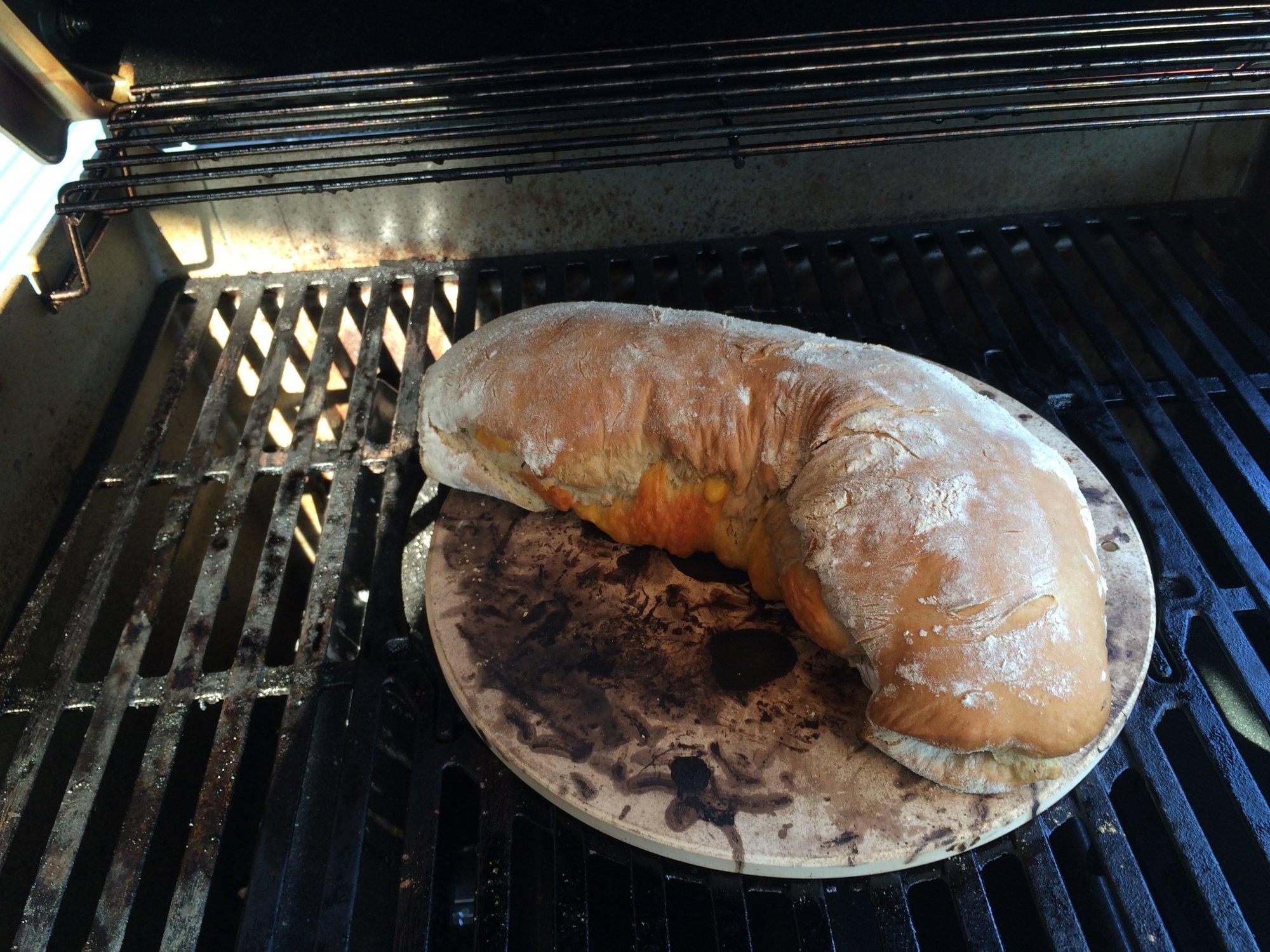 Weber Elektrogrill Pizza Backen : Brot auf pizzastein im gasi?? grillforum und bbq www