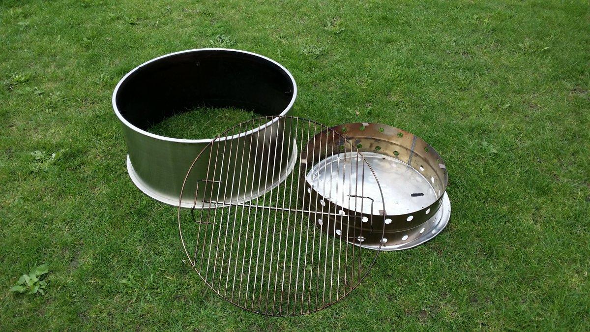 verkaufe cajun stacker 57cm f r weber kugelgrill als smoker grillforum und bbq www. Black Bedroom Furniture Sets. Home Design Ideas