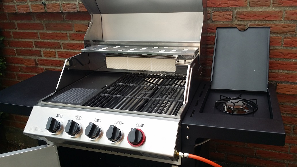 Enders Gasgrill Kansas Pro 3 Sik Turbo Test : Der neue mr gardener enders monroe sik turbo grillforum