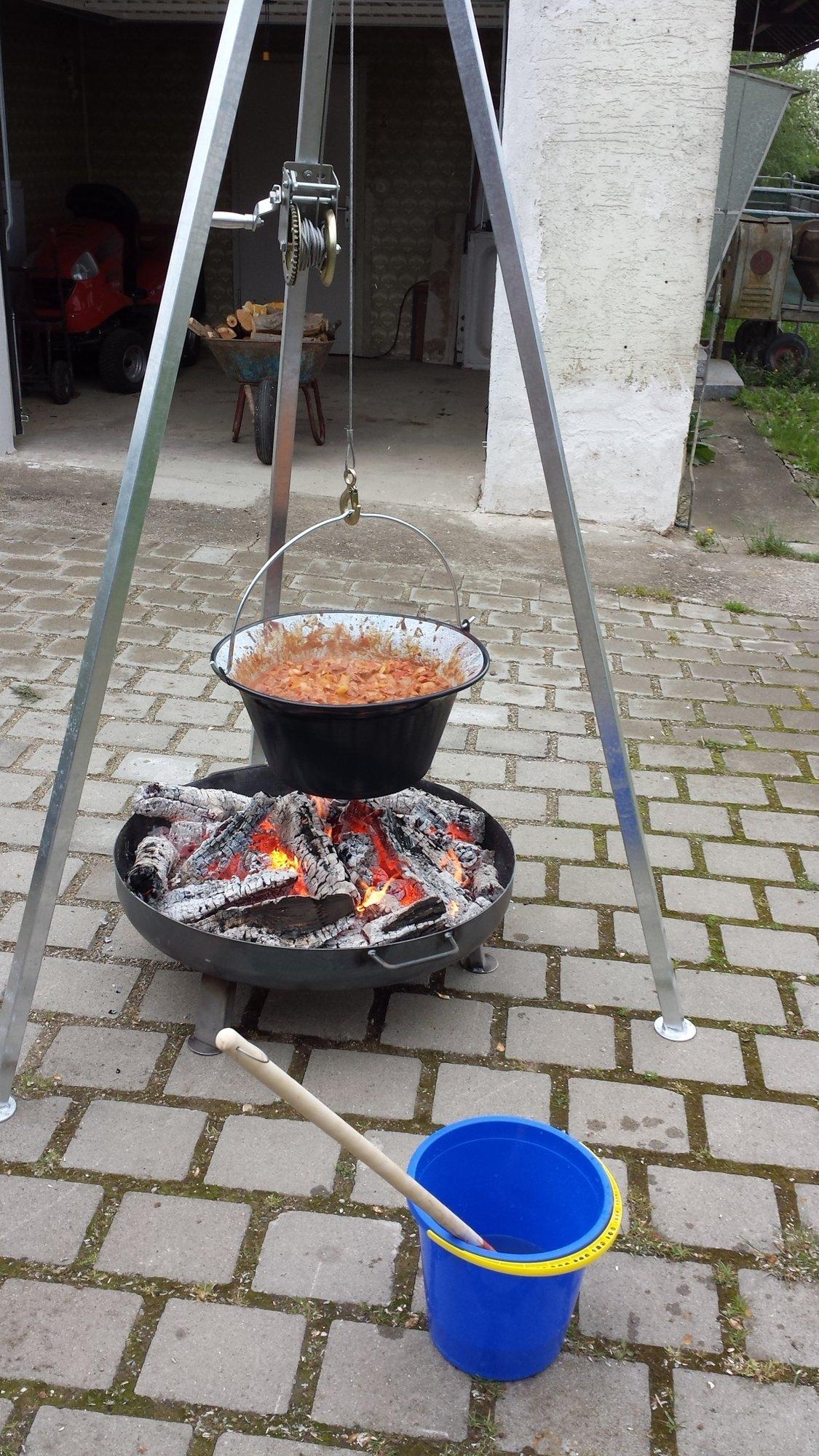 Gulasch für 40 Personen | Grillforum und BBQ - www