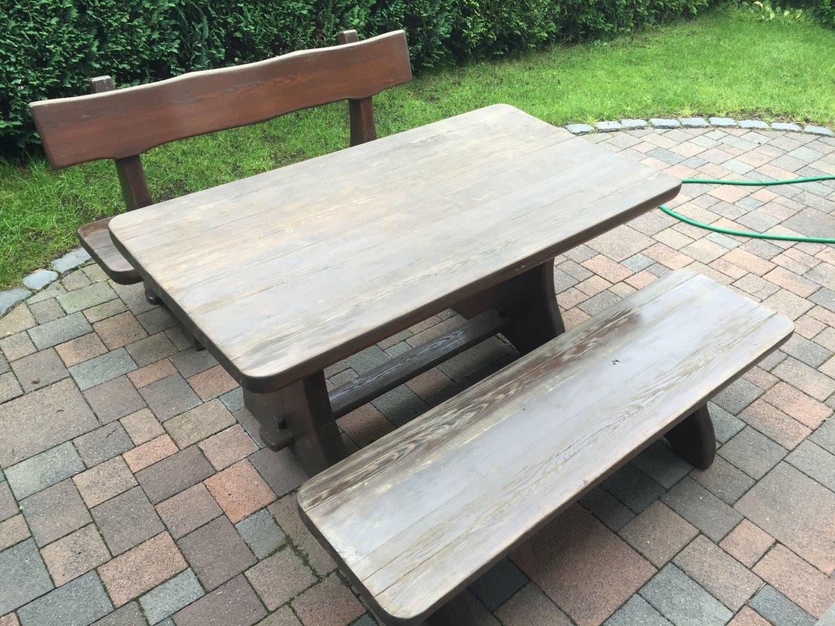 Verkaufe] - Gartenmöbel aus Lärche | Grillforum und BBQ - www ...