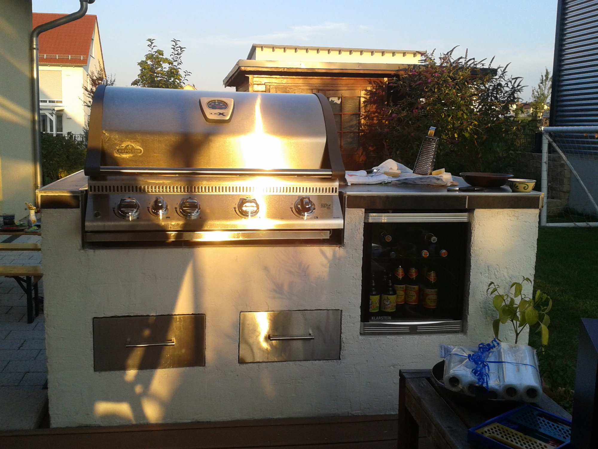 Outdoorküche Mit Kühlschrank Xxl : Outdoorküche mit kühlschrank xxl smoker outdoor küche rabe