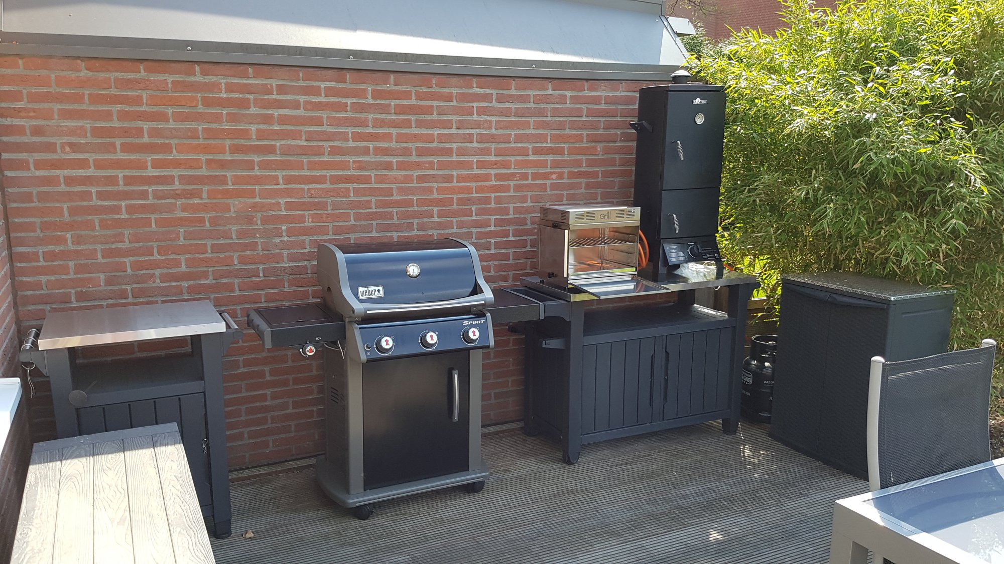 Aussenkuche grillsportverein for Gaskochfeld outdoor kuche