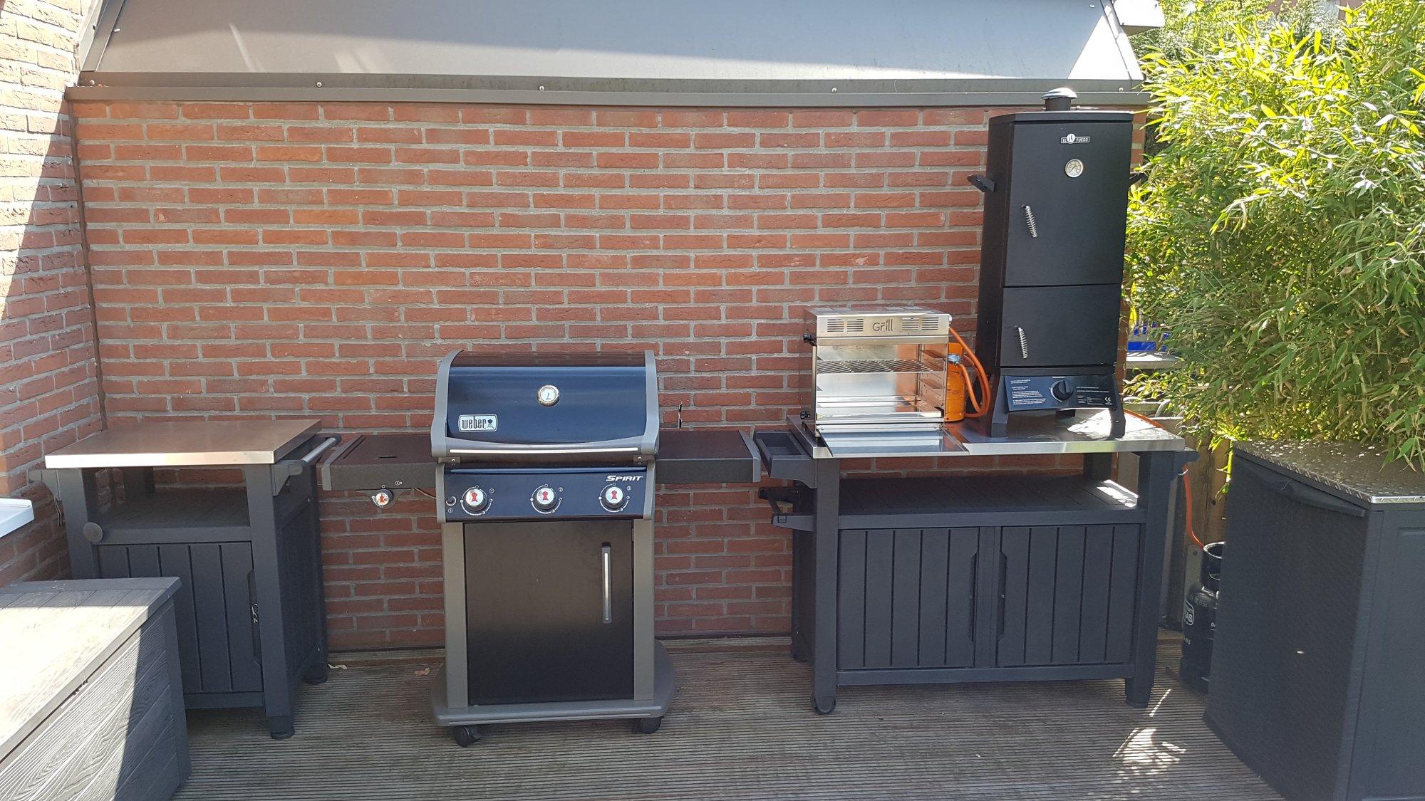 Meine kleine Aussenküche | Grillforum und BBQ - www.grillsportverein.de