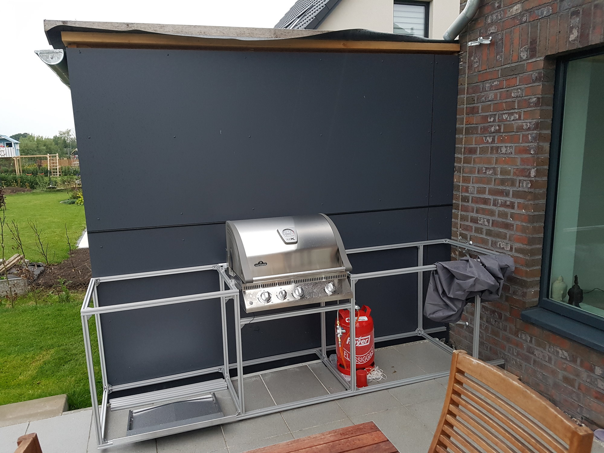 Außenküche Selber Bauen Unterkonstruktion : Grill selber bauen einfach flashsms