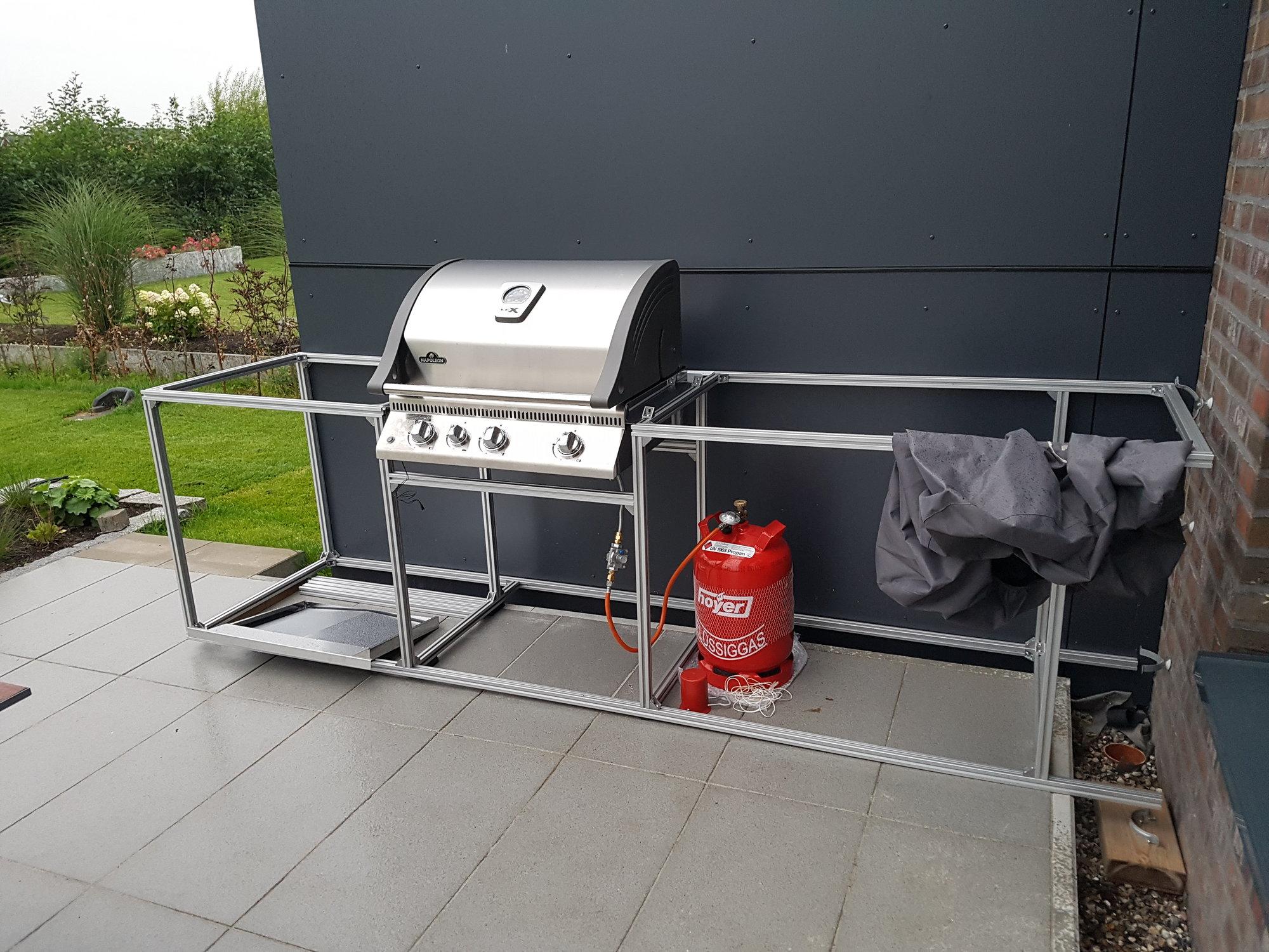 Outdoor Küche Verkleiden : Meine erste outdoor küche auf der terasse grillforum und bbq