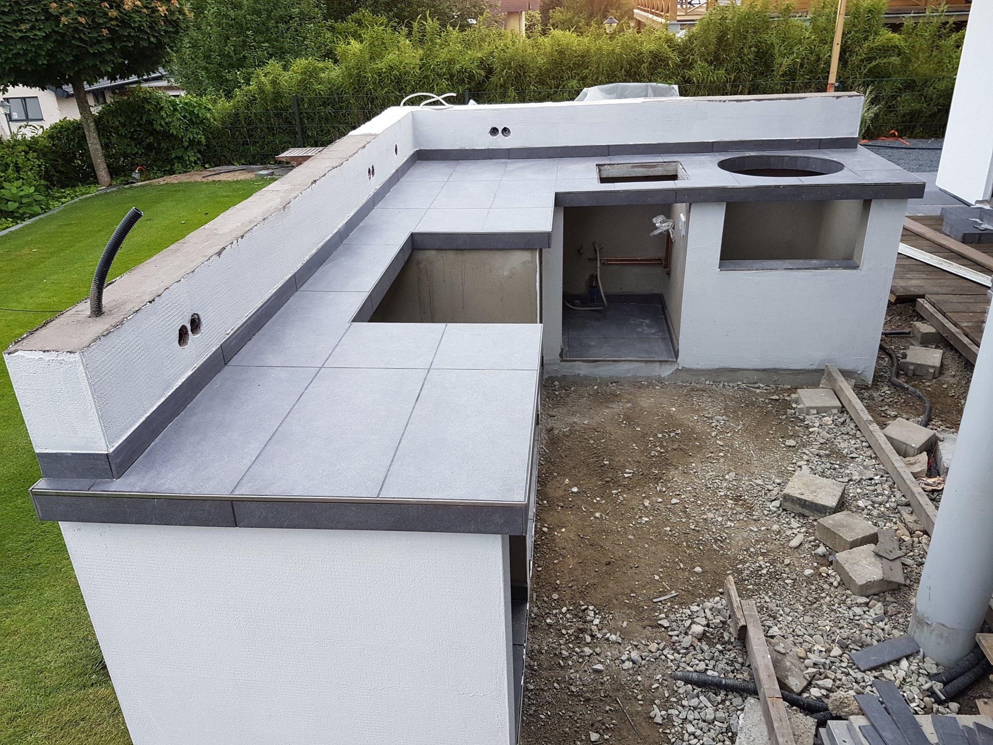Für Außenküche Xxl : Außenküche für summit wsm und beefer seite grillforum