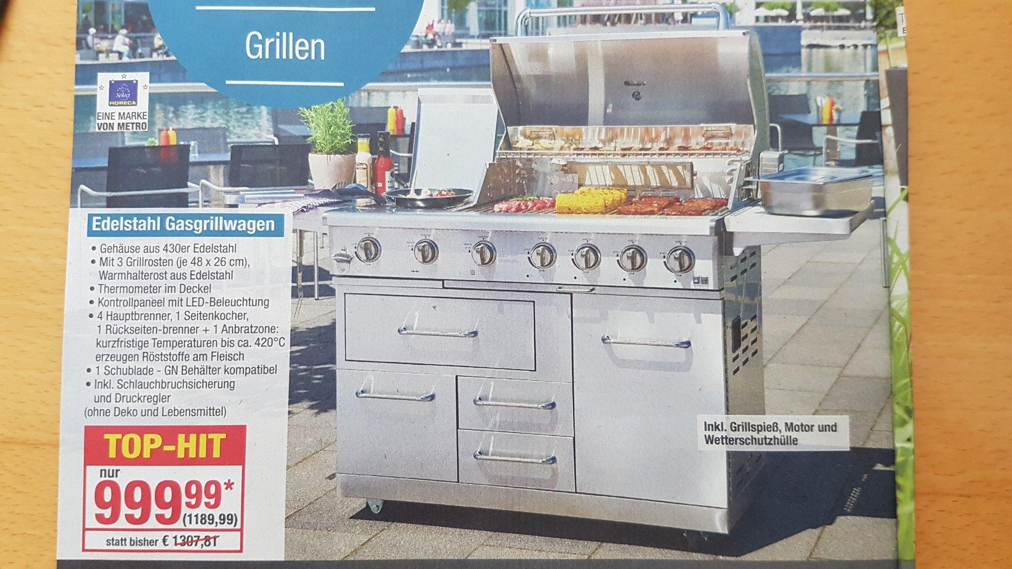 Outdoor Küche Metro : Metro gasgrillwagen grillforum und bbq www.grillsportverein.de