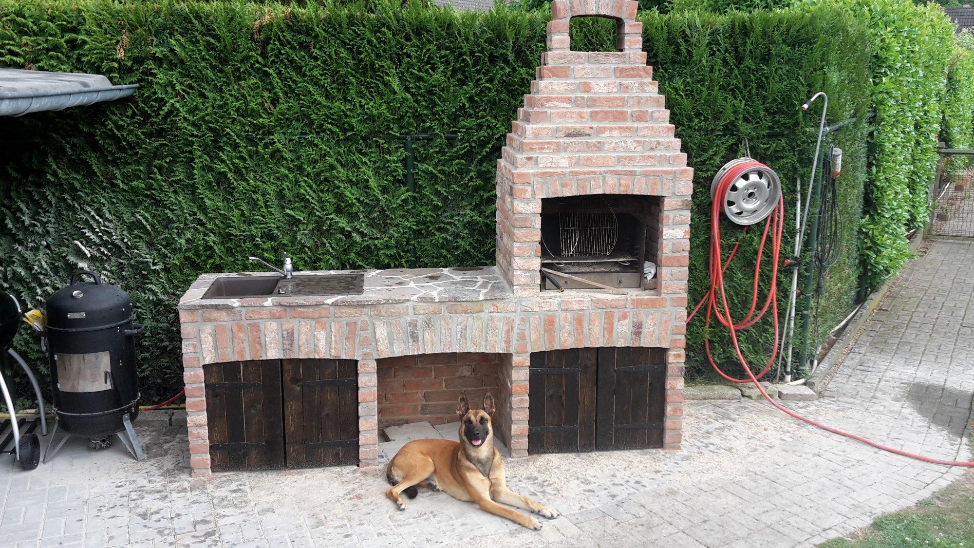grill gemauert awesome eckgrill gemauert garten with grill gemauert cheap awesome large size. Black Bedroom Furniture Sets. Home Design Ideas