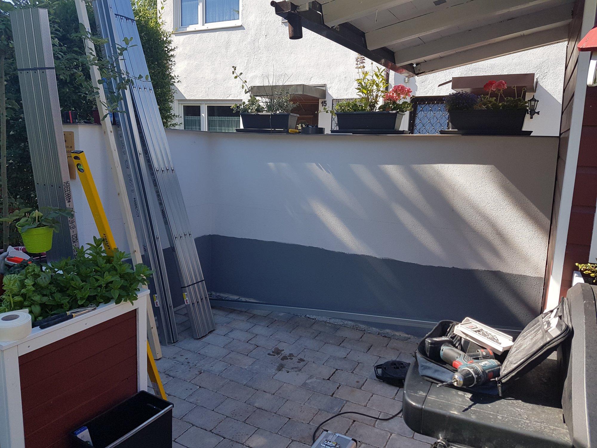 Outdoorküche Bausatz Forum : Gartenküche mit trockenbauprofilen grillforum und bbq www