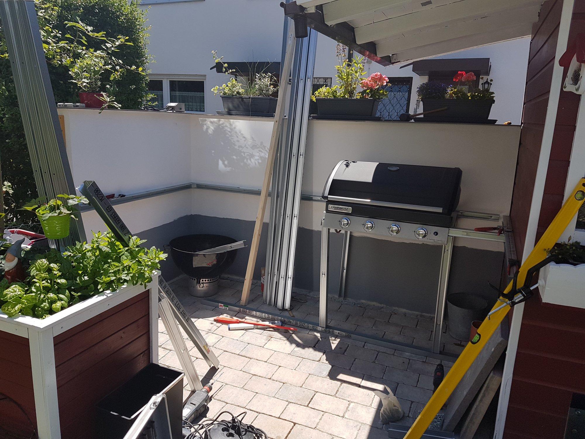Außenküche Selber Bauen Unterkonstruktion : Sitzecke selber bauen anleitung eckbank aus paletten