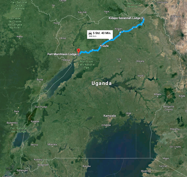 2018-02-07 15_24_46-Kidepo Savannah Lodge nach Fort Murchison Lodge, Uganda - Google Maps.png