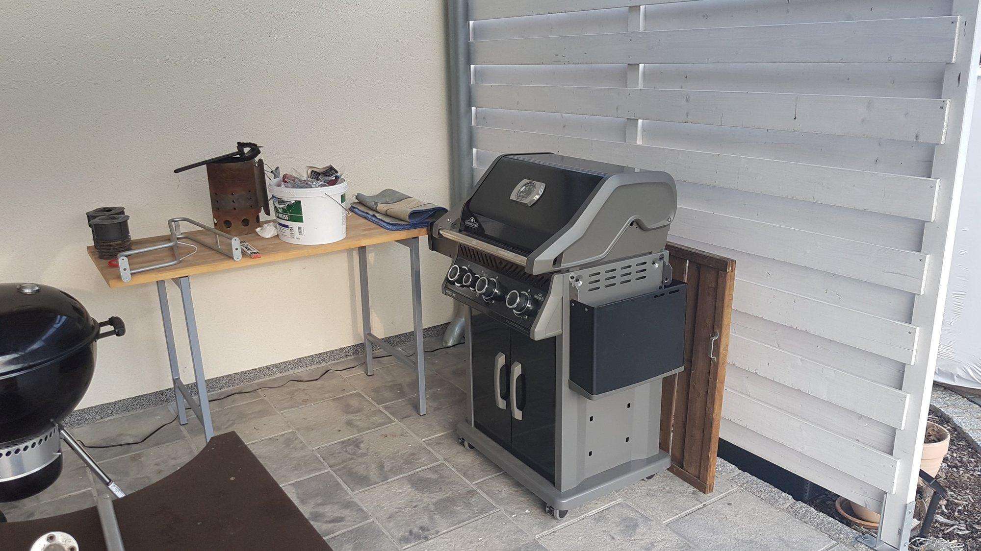 Granit Arbeitsplatte Outdoor Küche : Von arbeitsplatte zur outdoor küche grillforum und bbq