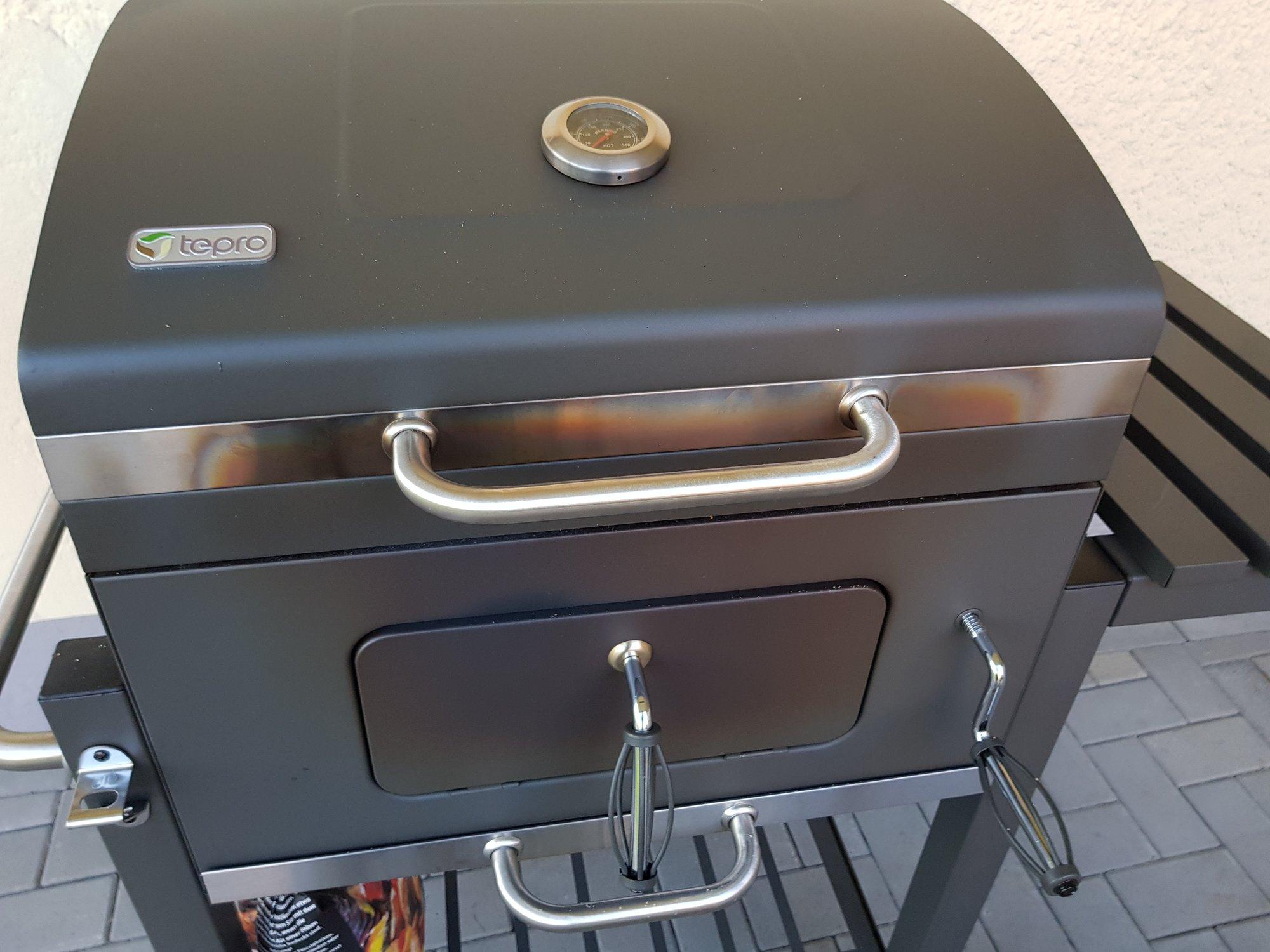 Tepro Toronto Holzkohlegrill Bauanleitung : Klassiker tepro toronto holzkohlegrill grill testbericht