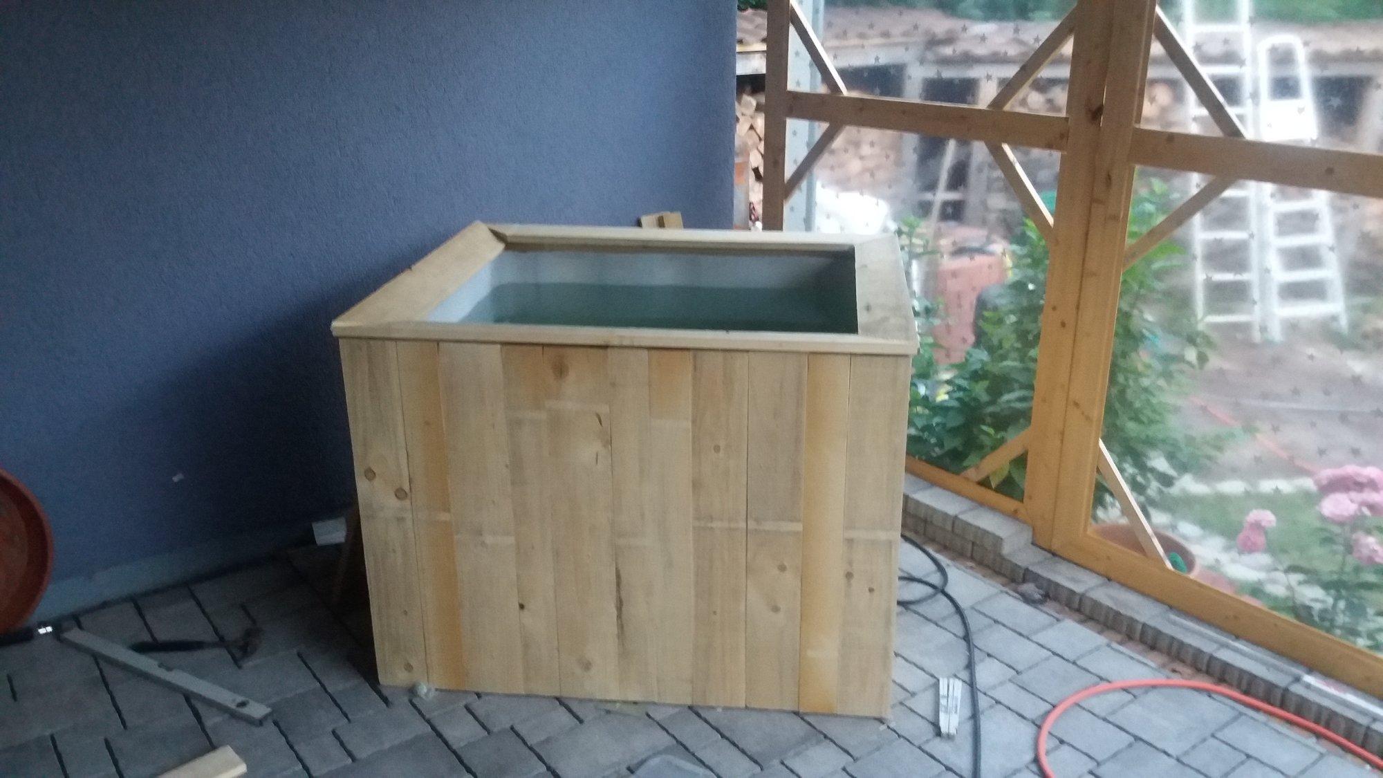 Cold Tub vs. Hot Tub - mein Badefass   Grillforum und BBQ ...
