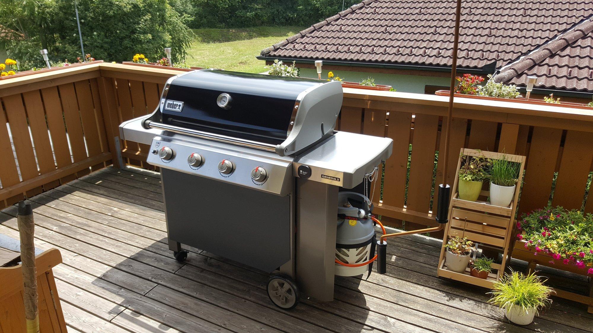 Outdoorküche Weber Q1200 : Weber genesis ii verkleidung grillforum und bbq www