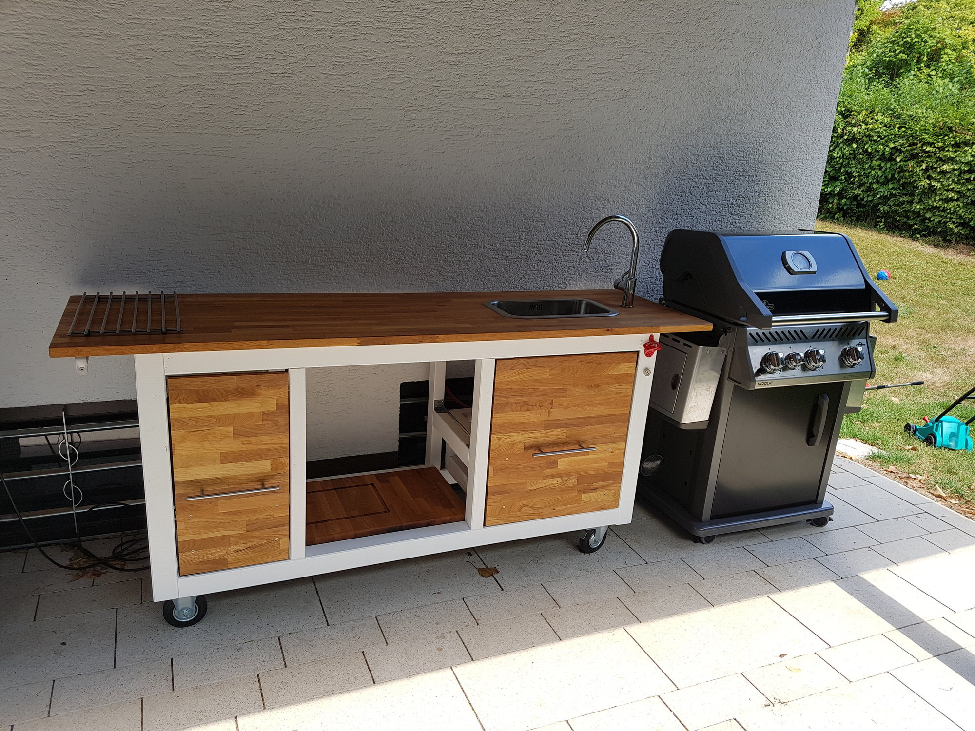 Outdoor Küchenwagen : Outdoor küchenwagen eigenbau für beefer kochen usw.. grillforum