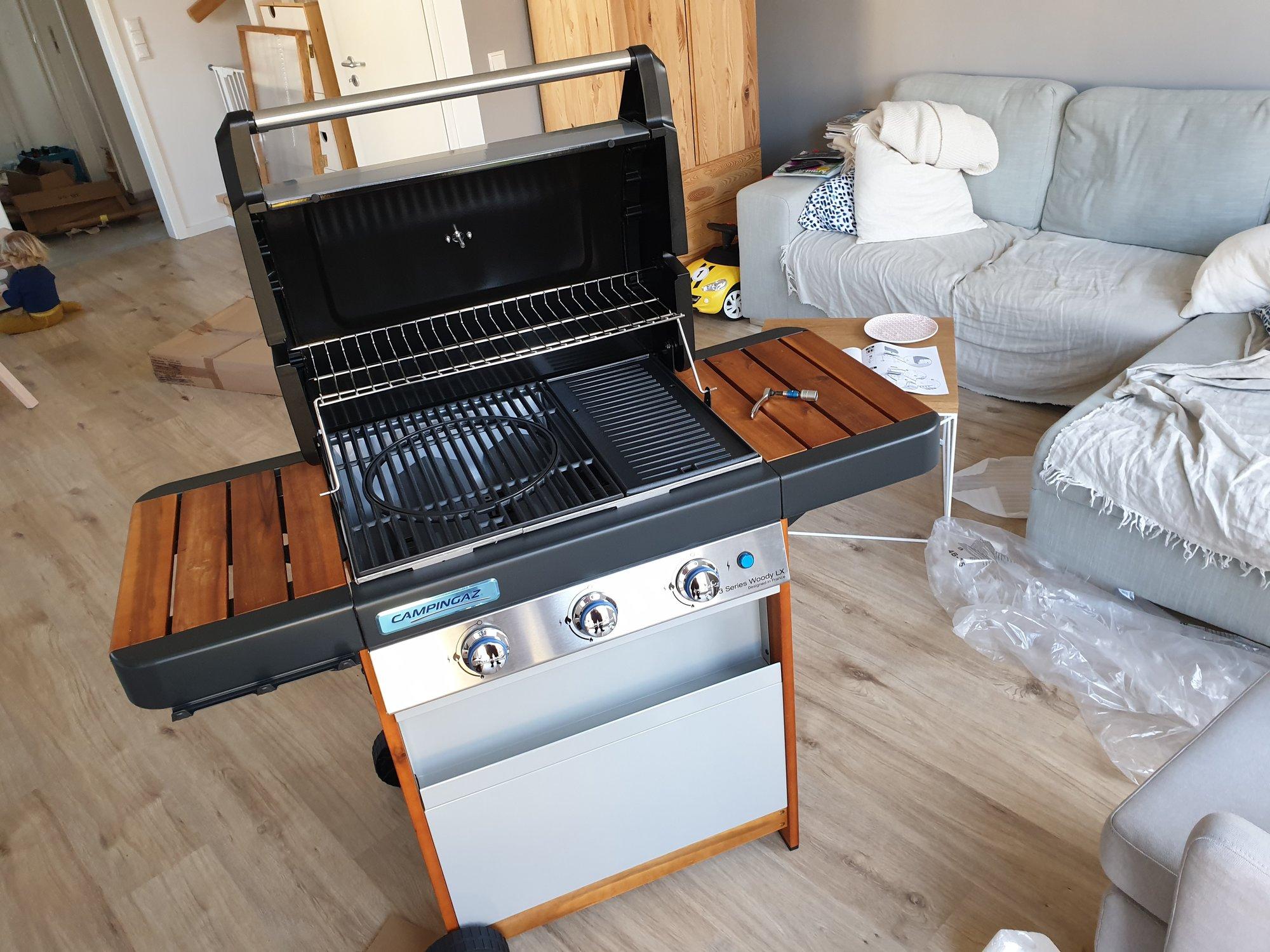 Campingaz 3 Series.Campingaz 3 Series Woody Lx Grillforum Und Bbq Www