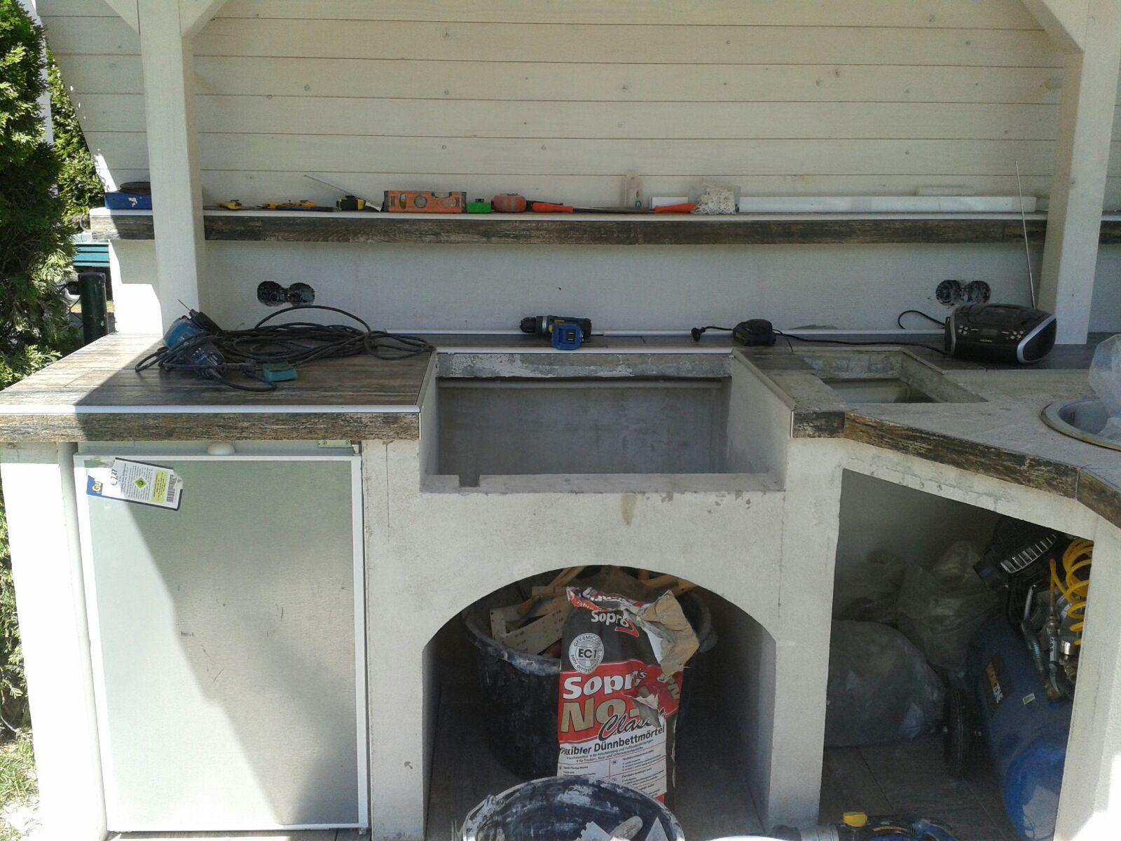 Außenküche Selber Bauen Grillsportverein : Sanierung außenküche grillforum und bbq grillsportverein
